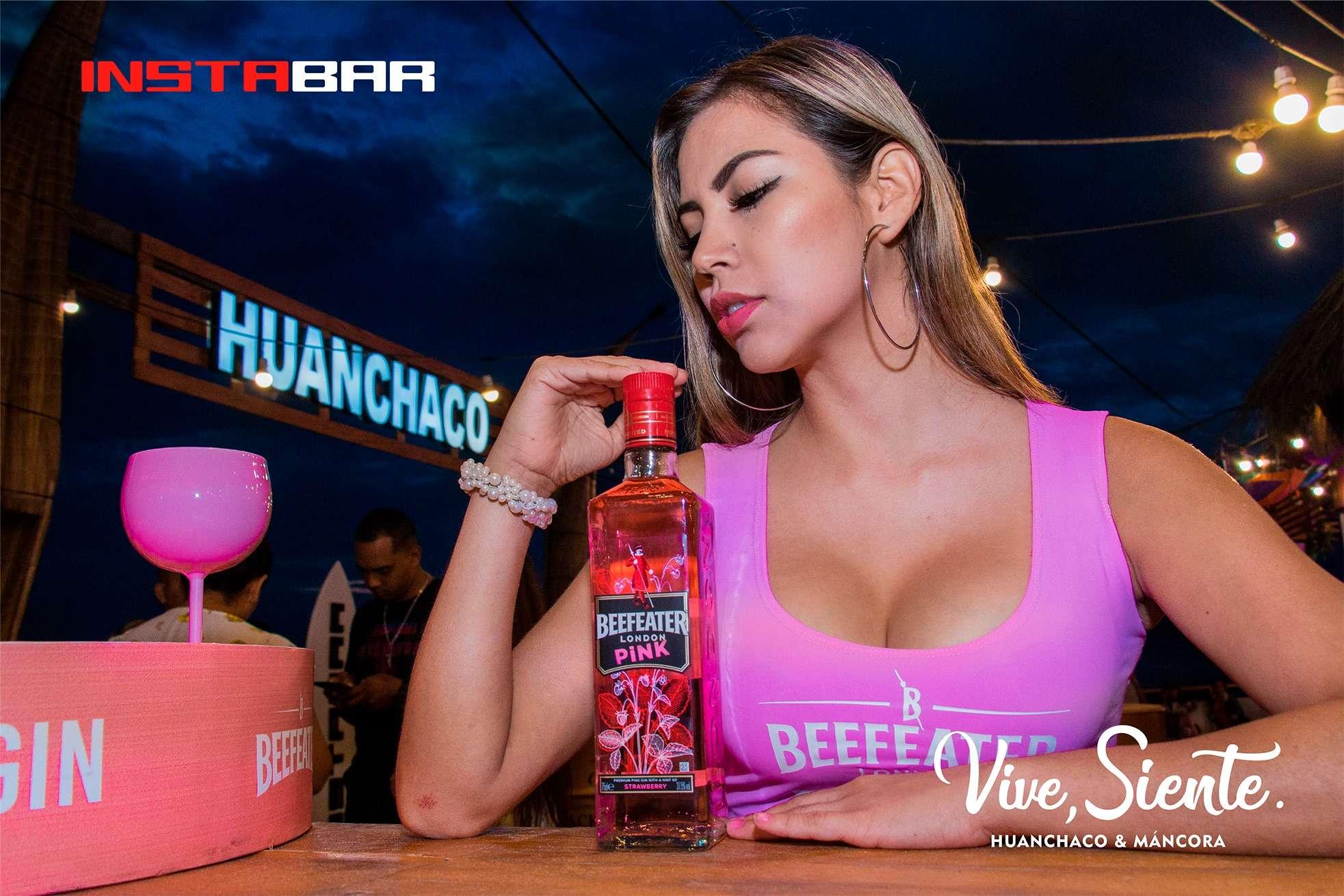 Fiesta Beefeater Pink